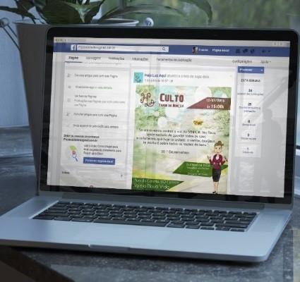 Post Facebook Haja Luz Aqui